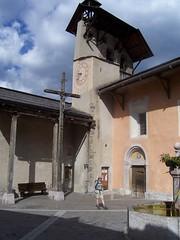Church in central Ceillac