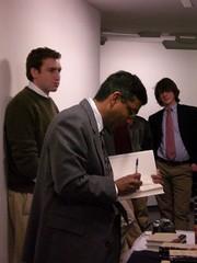 February 28th, 2007 - Dinesh D'Souza - Bowdoin College - Pic 11 (The Maine College Republicans) Tags: bowdoin 2007 dineshdsouza mainecollegerepublicans