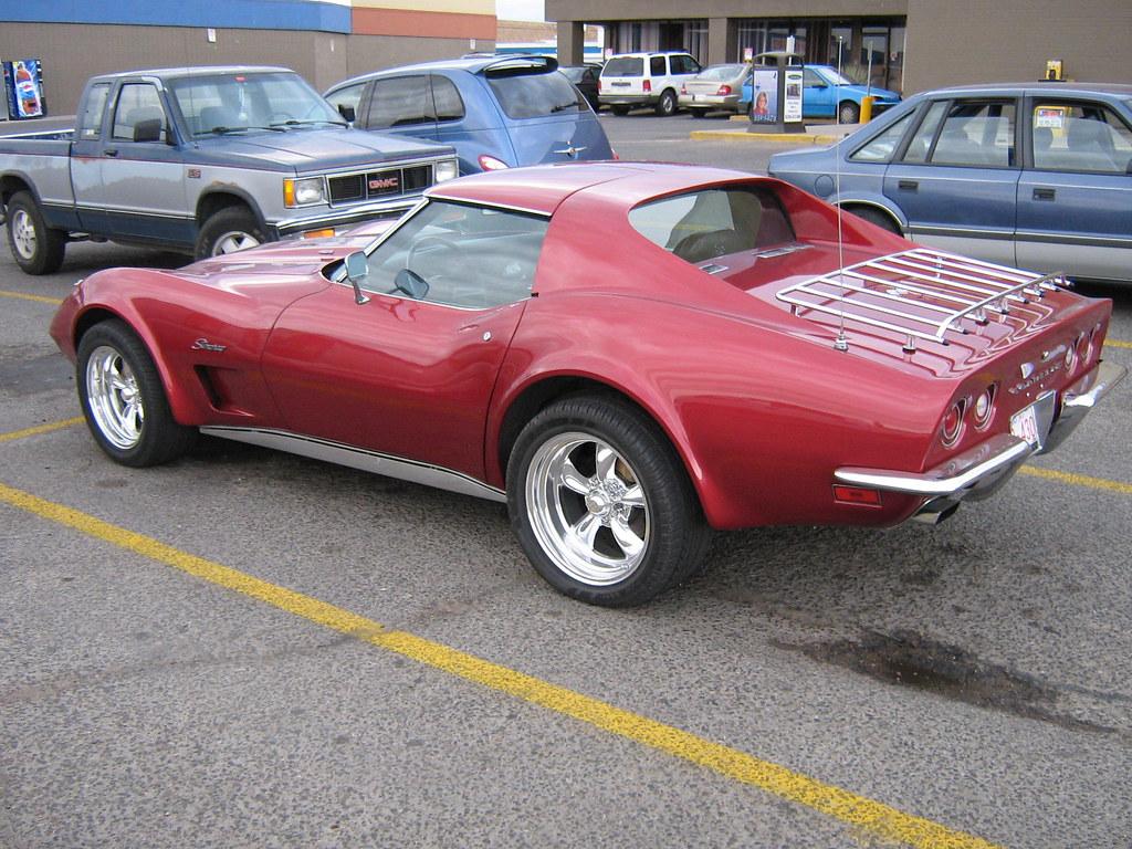 1973 Corvette Stingray. go back