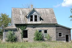 Wisc Abandoned #3500 (jeff marcus) Tags: wood old house building abandoned broken window stone wisconsin architecture farmhouse rural decay farm rustic neglected forgotten weathered derelict jeffmarcus