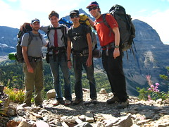 Group shot. (matt semel) Tags: david mike me montana sean glaciernationalpark gorillapod