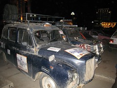 Mongol Rally cars