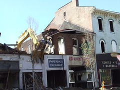 2007-09-12 265 (rbatina) Tags: county street ohio buildings fire downtown district main down demolition historic lancaster oh torn destroyed demolished fairfield razed rubbertoe