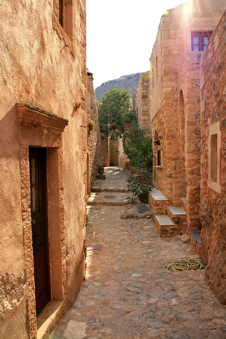 Monemvasia,old town