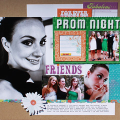 PROM NIGHT 12 X 12 L.O (alexandra s.m.) Tags: friends scrapbooking paper layout prom papier 12x12layout mylittleyellowbicyclesfreespirit