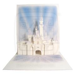 Castle Pop-Up Card #01