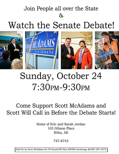 Debate Party Invite Sitka