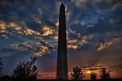 Washington Monument (myke321) Tags: sunset wallpaper usa monument clouds dc washington nikon d90 sunsetssunrisesandskys