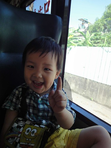 楊辰辰搭公車