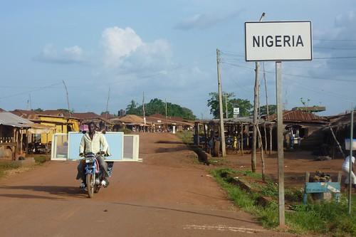 Entering Nigeria