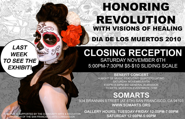 Honoring Revolution Closing Reception