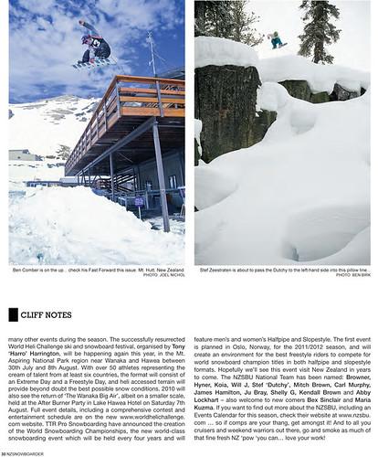 New Zealand Snowboarder #53