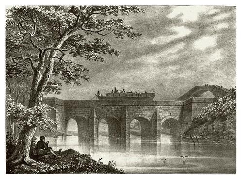 005-Paso del Canal Imperial-Rio Jalon- -Recuerdos y bellezas de España Vol 1-Aragon