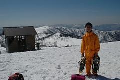 氷ノ山山頂にて(小6、12歳)