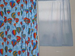 bathroom curtain