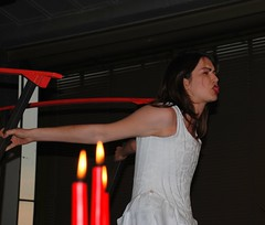 Don Giovanni, Donna Elvira (Miek37) Tags: red white netherlands rotterdam nikon opera giovanni donnaelvira nikor d80 nikond80 18135mmf3556g