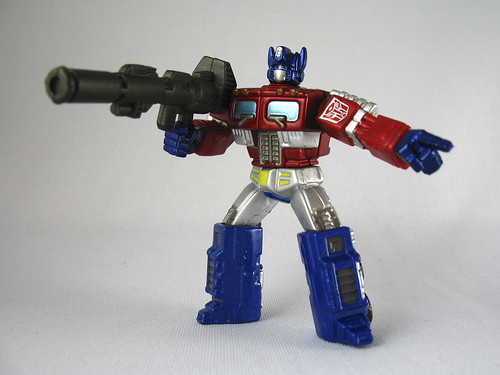 "3"" Titanium Optimus Prime (Metallic Exclusive)"
