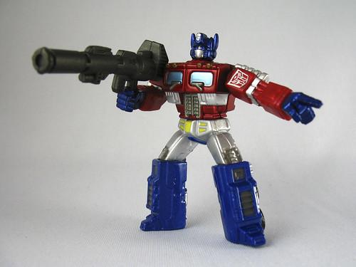 """3"""" Titanium Optimus Prime (Metallic Exclusive)"""