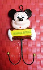 souvenir gypsum ganci mickey kecil