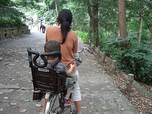20070628腳踏車的後座椅