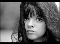 Vera (BW) (AlexEdg) Tags: family summer portrait bw girl face nikon bravo emotion d70s nikond70s 70300mm tamron vera 2007 mydaughter mywinners aplusphoto alexedg alledges megashot atqueartificia