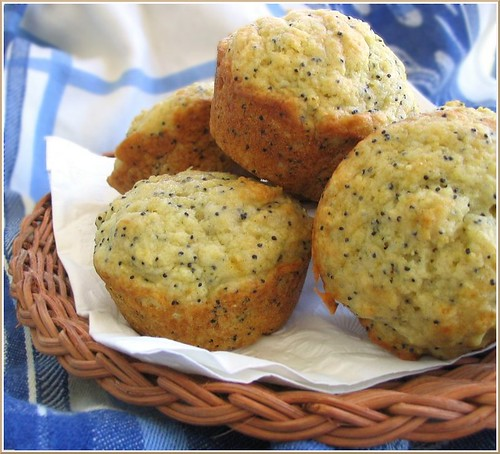Almond Poppy Seed Muffin