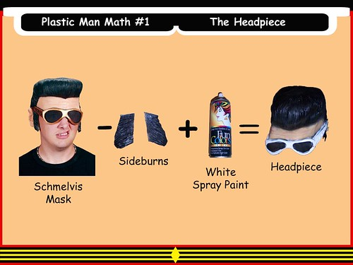 Plastic Man Math #1 - The Headpiece