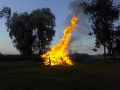 High flames
