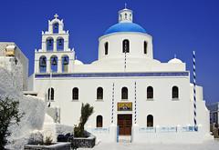 Church, Oia, Santorini - by Wolfgang Staudt