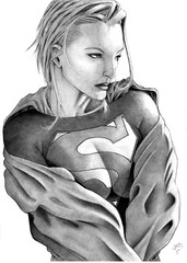 Supergirl (TalonWarlok) Tags: art illustration digital pencil dark yahoo dc pc google women flickr artist cole drawing gothic goth fairy fanart fantasy talon comicbook scifi marker colored supergirl concept enhanced unexplained faerie warlock phenomenon faries 11x14 warlok talonwarlok 81212 talonwarlock