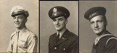 Brothers (For Veteran's Day) (PLCjr) Tags: portrait film infantry vintage germany army brothers wwii ss navy ww2 thunderbirds dachau veteran 1945 rhine rhineland 1944 b24 worldwar2 45th sigfried uncletony 157th aircorp aschafenbeurg