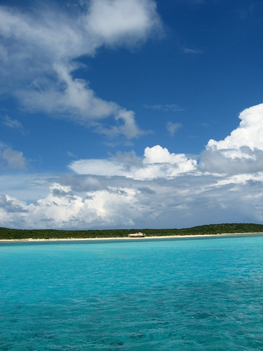 Caribbean wonder in Farmer's Cay, The Exumas, The Bahamas