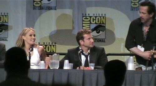 leslie bibb almay. Leslie Bibb, Bradley Cooper and Clive Barker