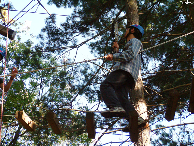 High rope challenge 022