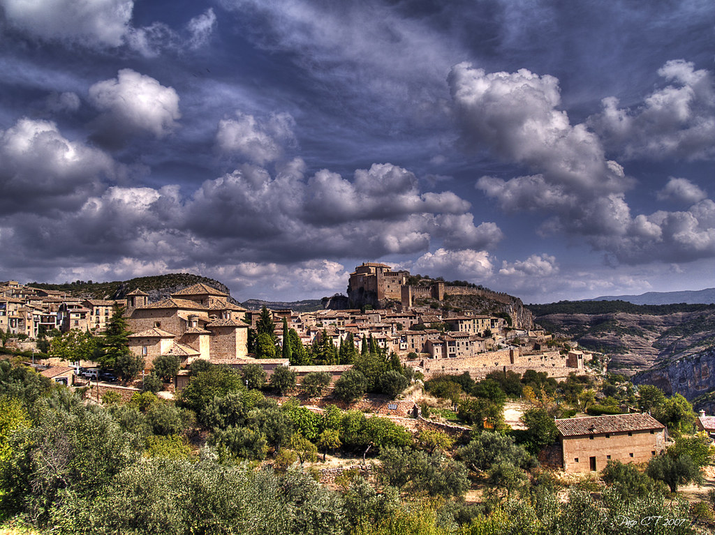 Photo d'Aragon n°8. Le village d'Alquezar
