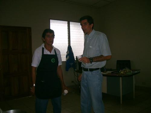 Mauricio and Fernando, Cuzcachapa