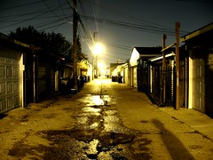 BRIGHT NIGHTS (EMENFUCKOS) Tags: chicago west night alley shots side north