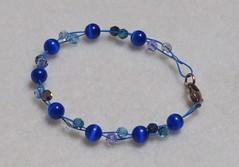 Blue Bracelet.