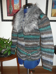 Felted jacket - After