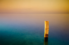 I will be waiting (Khaled A.K) Tags: sea seascape landscape long exposure slow surreal filter shutter stick dreamy scape grad khaled tobacco kashkari