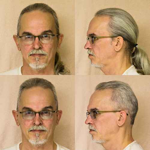 Hair Mug Shots, Before and After