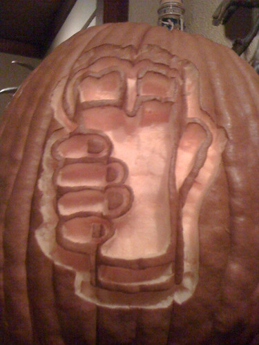 Beer Pumpkin