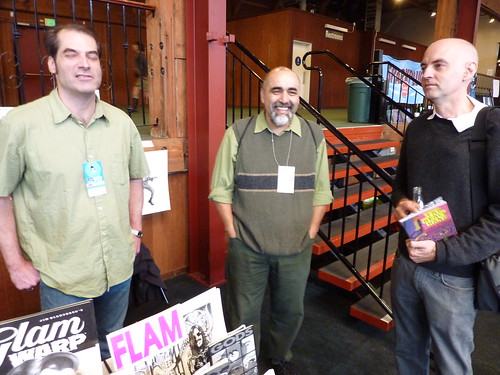 Jim Blanchard, Mario Hernandez, & Dan Clowes - Alternative Press Expo (APE), Oct. 16-17, 2010