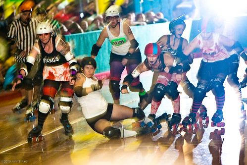 Gate City Roller Girls: Roller Derby Pile Up