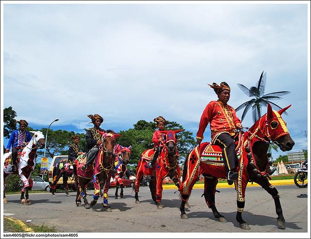 Tamu Besar Kota Belud 2010 - Horsemen