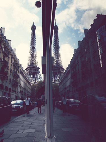 Two Eiffel towers