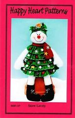 boneca de neve (alinnerj) Tags: natal fuxico feltro pap molde duende passoapasso moldedenatal nataldefeltro