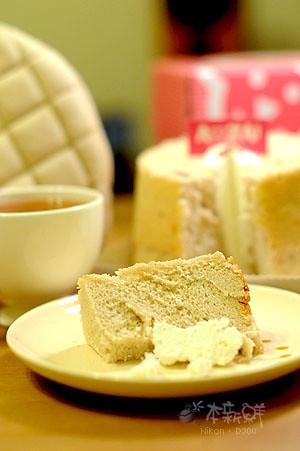 玫瑰戚風蛋糕