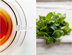 A Nice Cuppa | Mint Tea (Gourmande in the Kitchen) Tags: diptych tea relaxing mint herbaltea soothing unwind minttea foodphotography anicecuppa nightlyritual ef100mmf28lisusmmacro makeyourownherbaltea