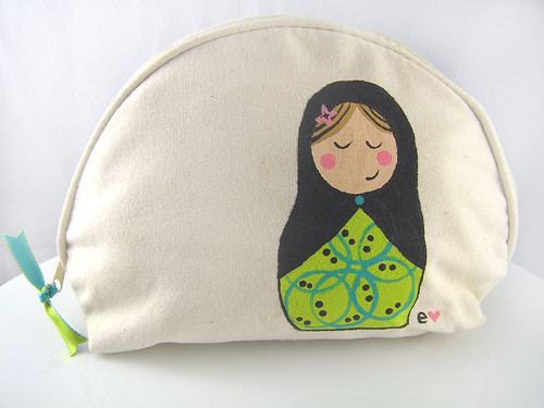 Babushka Makeup Bag